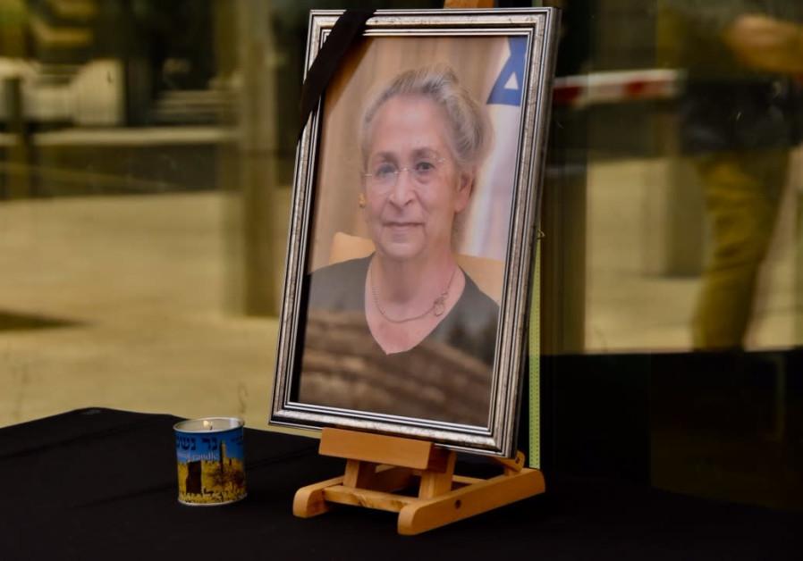 Nechama Rivlin, scientist, art lover, wife of president, passes away