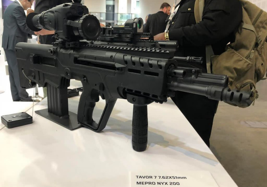 IDF troops might get latest Tavor 7 bullpup assault rifle