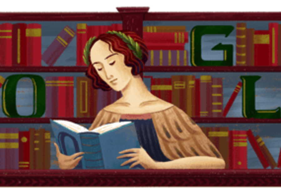 First woman to earn a Ph.D. honored with 'Google Doodle'