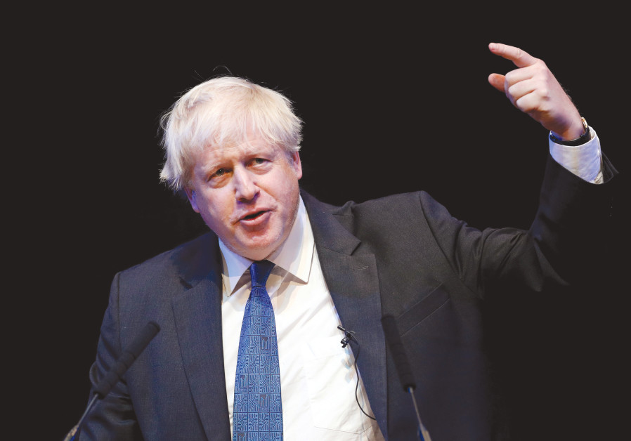 BORIS JOHNSON, one of many contenders for the Conservative leadership