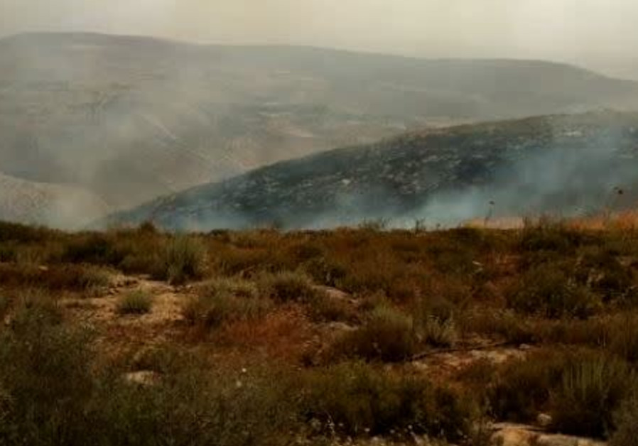 Fire in the West Bank
