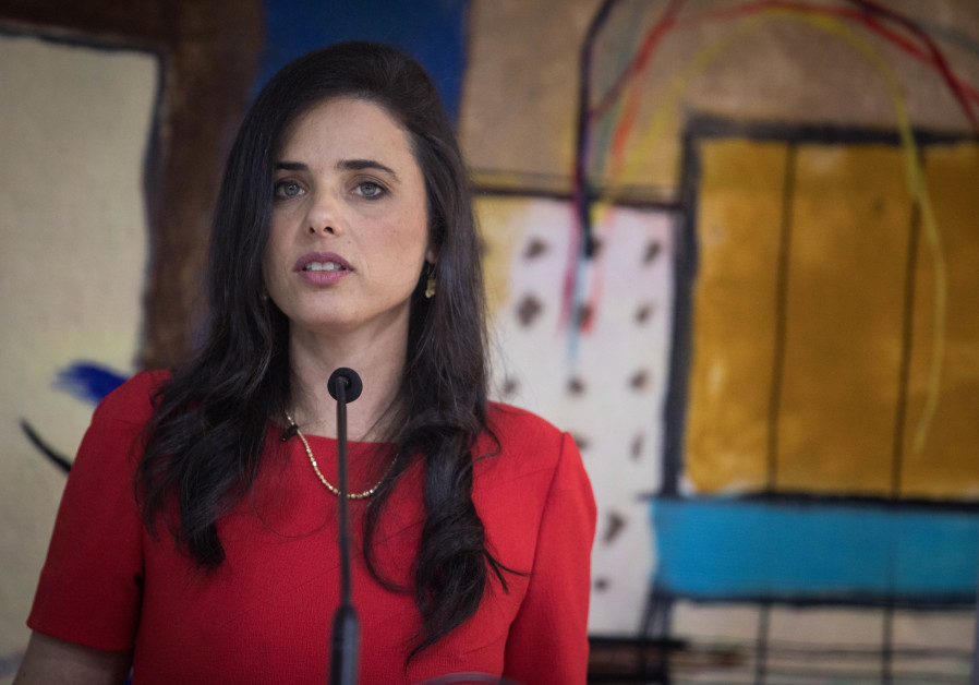 Ayelet Shaked hosts a goodbye party as she leaves her position as Justice Minister.