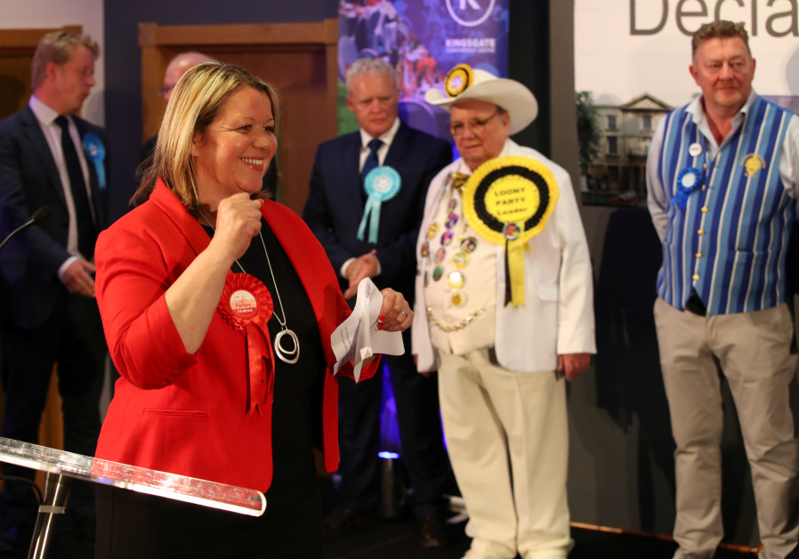 Labour MP holds PM serves 'Zionist Slave Masters,' wins Parliament seat