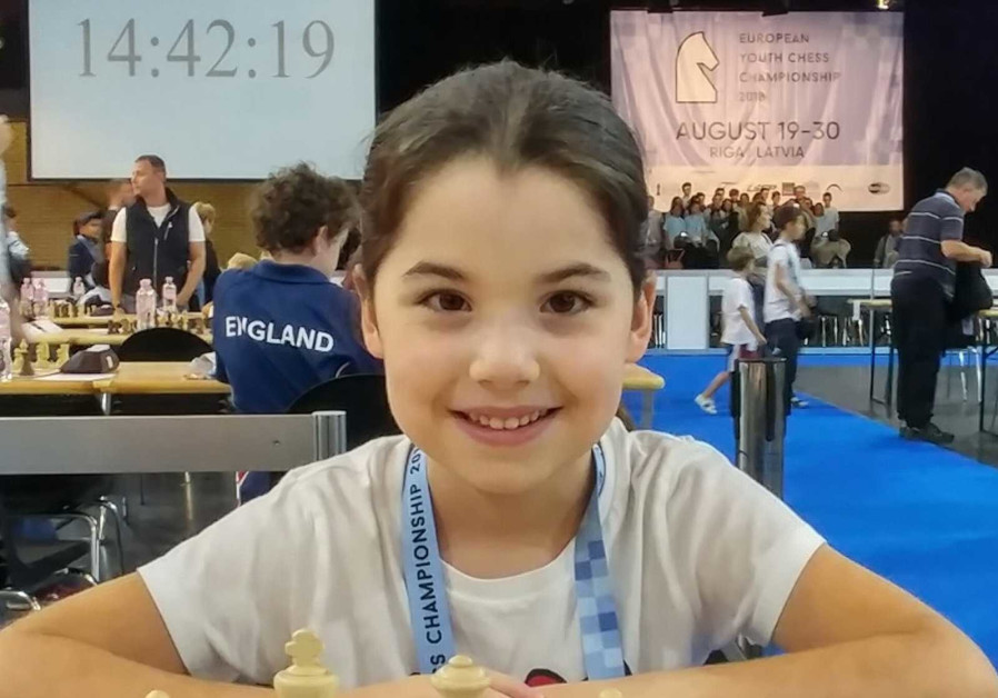 Israeli 8-year-old Or Shatil wins 2nd place in European chess championship