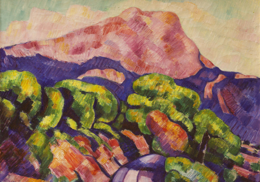 Mont Sainte-Victoire by Marsden Hartley (courtesy)