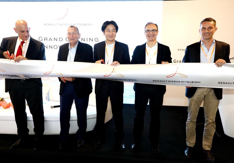 Renault, Nissan, Mitsubishi alliance launch Tel Aviv innovation lab