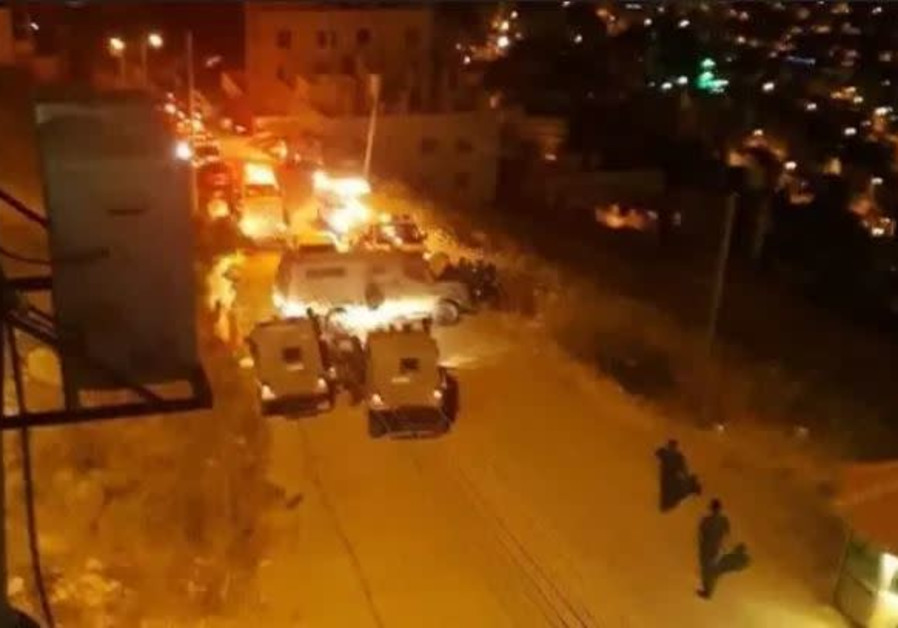Rare exchange of fire between Israeli troops and Palestinian security