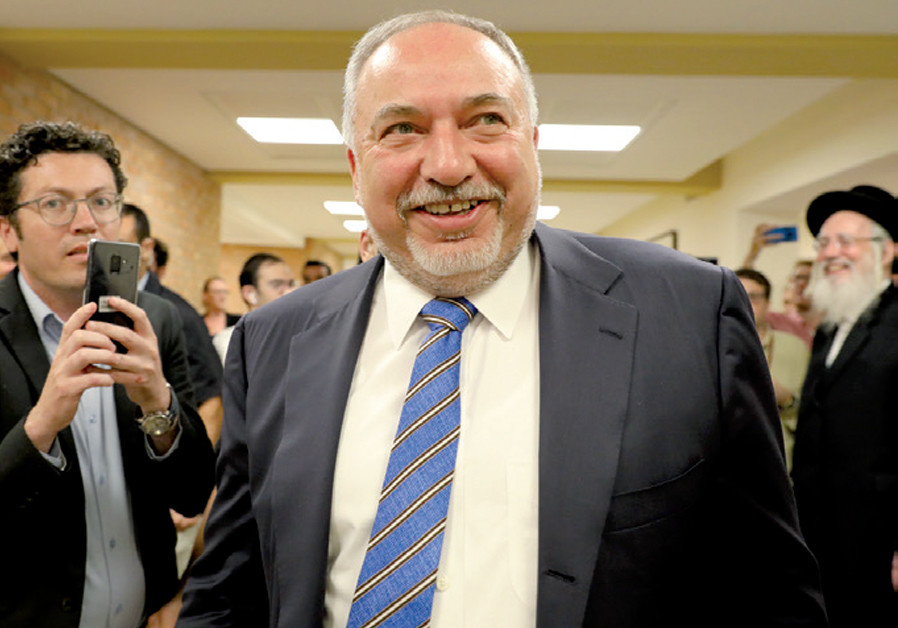 "Liberman thinks Netanyahu has a post-election ""deal"" with Labor's Peretz"
