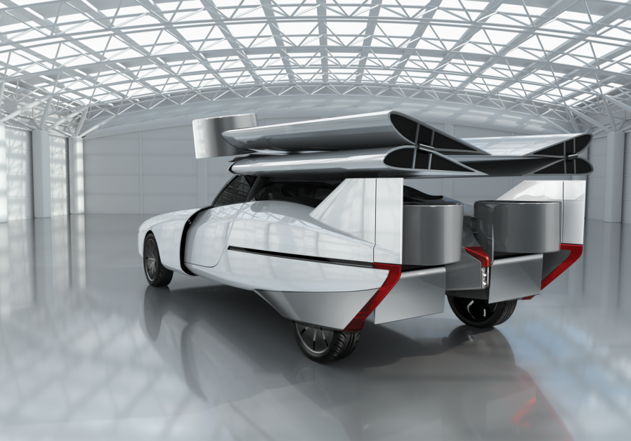 The flying car being created by ASKA