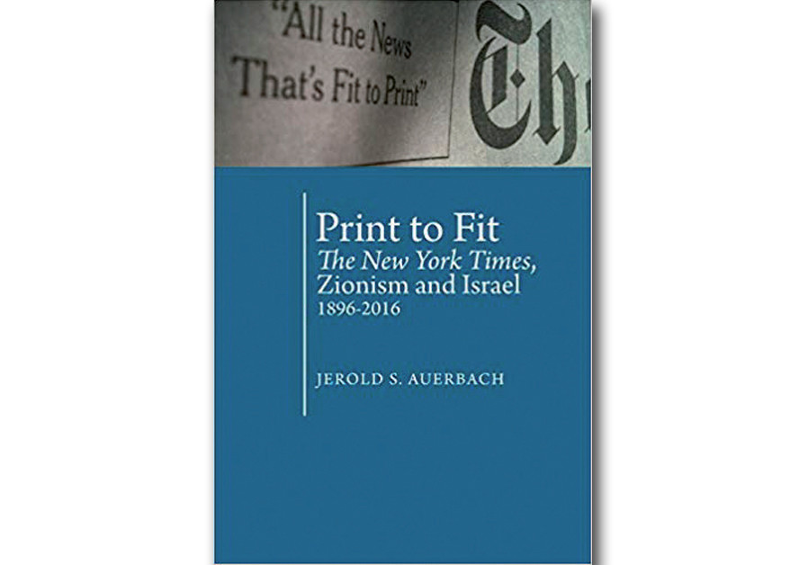 Book Review: 'The New York Times' and Israel