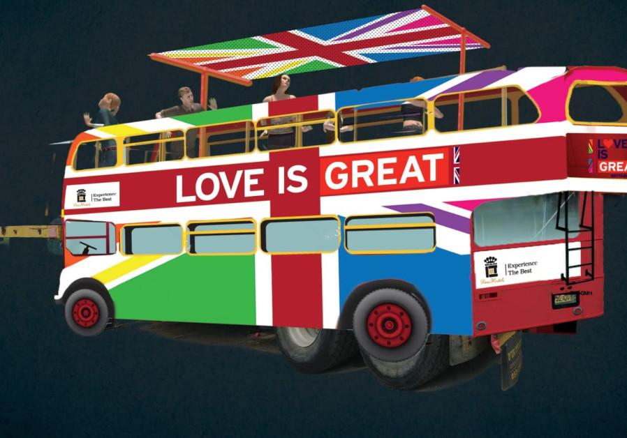 British Embassy's Tel Aviv Pride float 2019