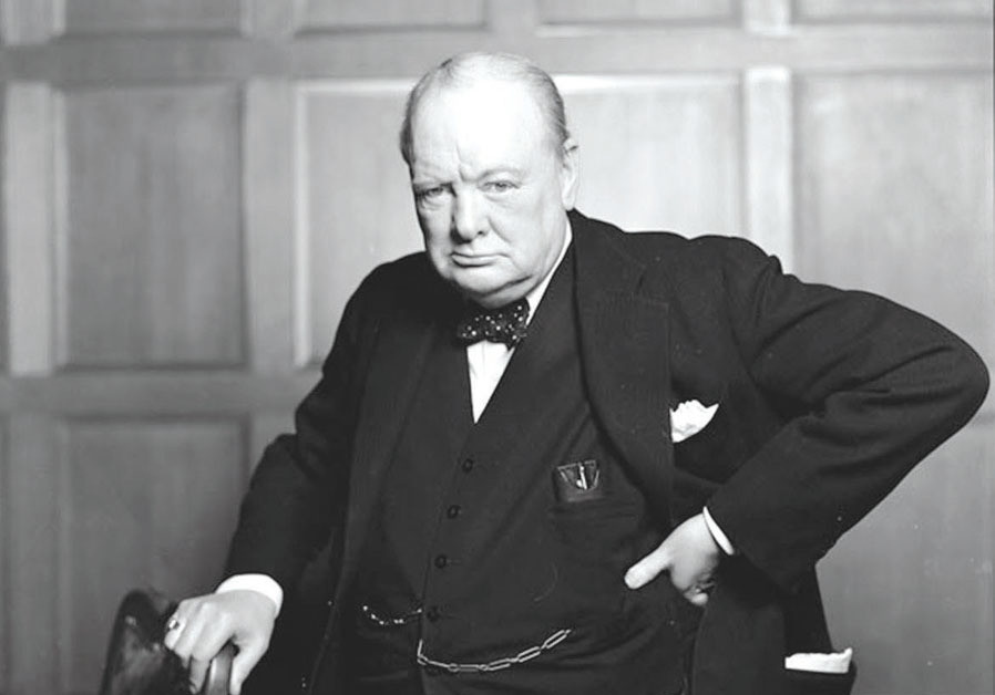 SIR WINSTON CHURCHILL, 1941. (Credit: BIBLIOARCHIVES/LIBRARYARCHIVES/FLICKR)