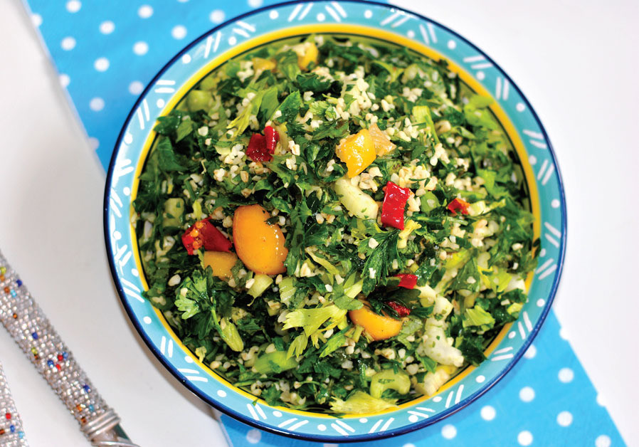 BULGUR AND HERB SALAD (Credit: PASCALE PEREZ-RUBIN)