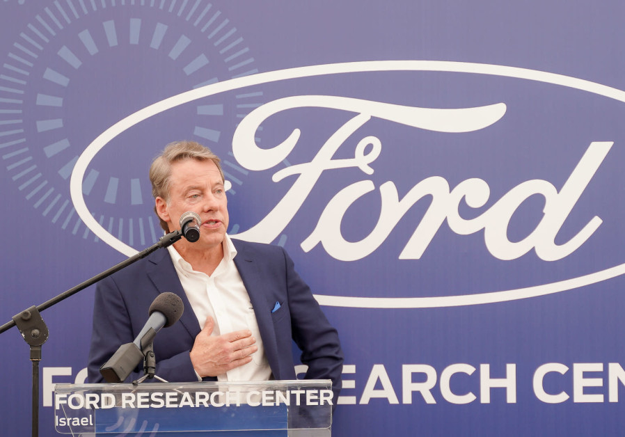 Bill Ford, executive chairman of Ford Motor Company at the opening of the Ford Research Center in Te