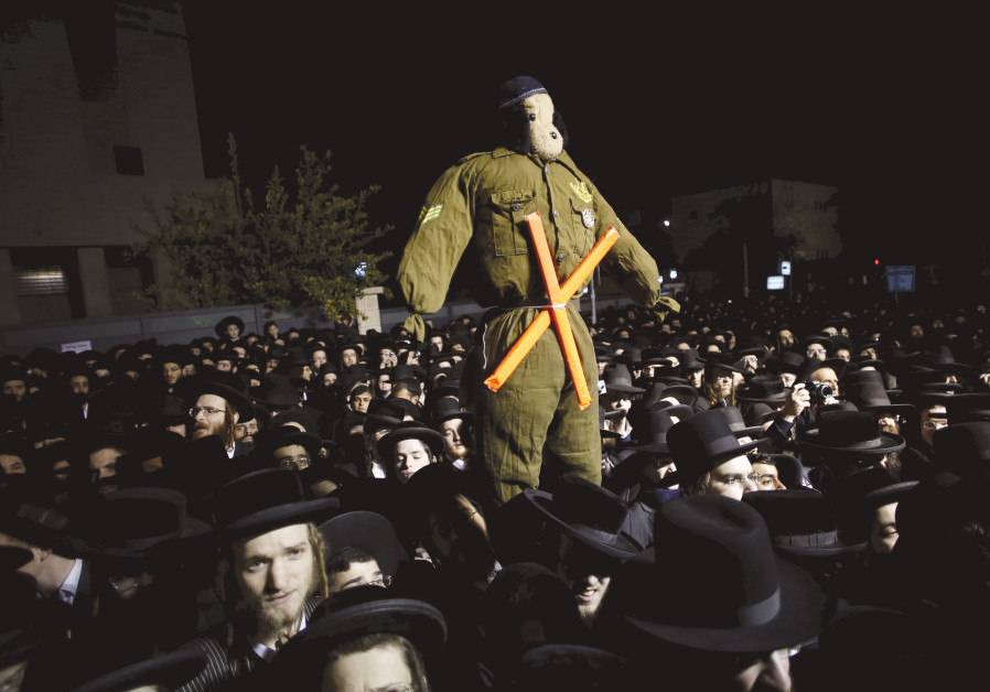 'THE CONSCRIPTION bill, which for Yisrael Beytenu was already a compromise on a compromise, was writ