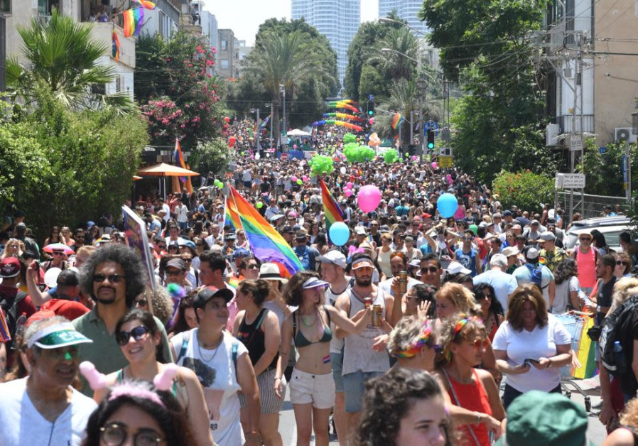 Tel Aviv Pride Parade kicks off, 2019.