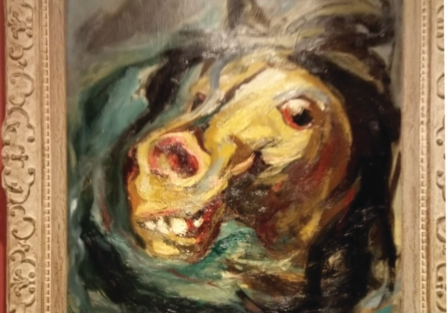 DROWNING HORSE, 1942