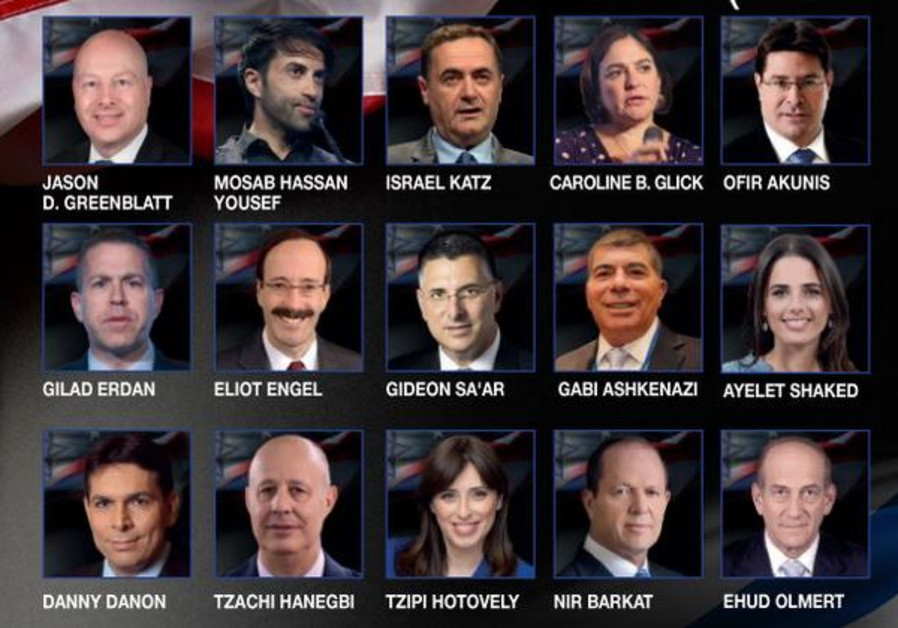 The speakers at the Jerusalem Post Annual Conference 2019