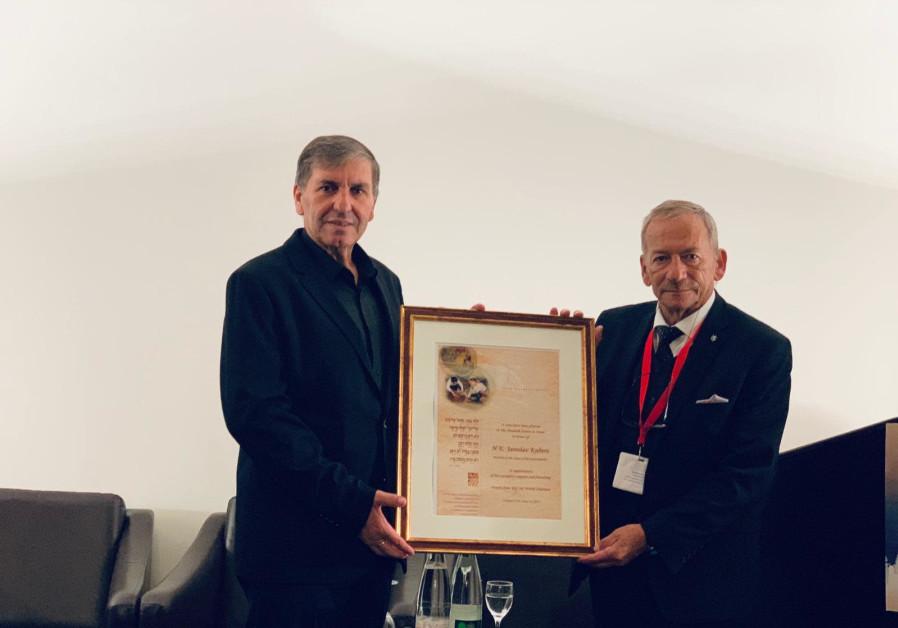 KKL-JNF chairman urges Czech Republic to move embassy to Jerusalem