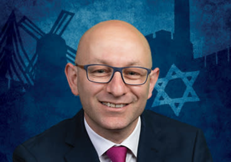 Arsen Ostrovsky, executive director of The Israeli-Jewish Congress  (Credit: Courtesy)