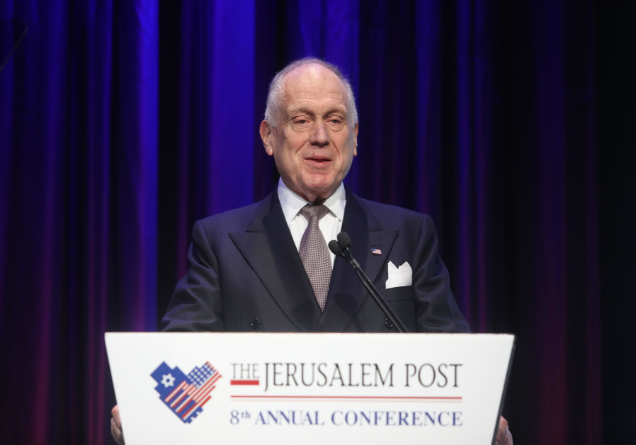 Ronald Lauder calls on Jewish world to 'unite as one'