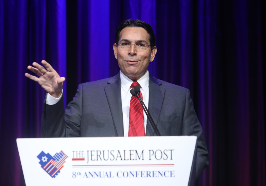 Danon to Post: Coordination between Israel, Arab states at the UN on Iran