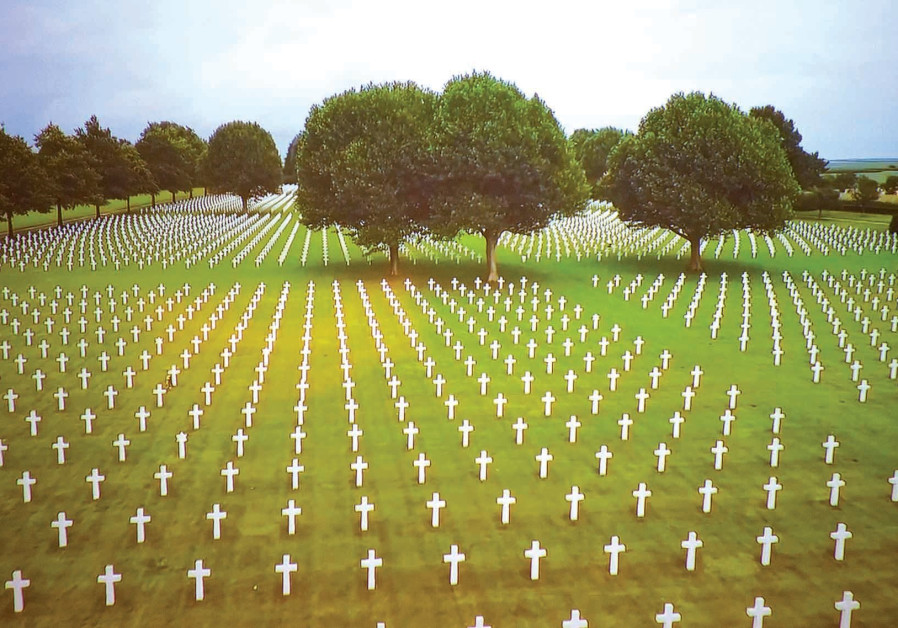 THE GRAVES of the fallen at Normandy