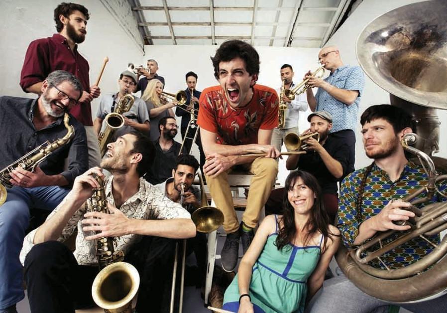 MARSH DONDURMA will be performing at the New Orleans Jazz Festival in Tel Aviv
