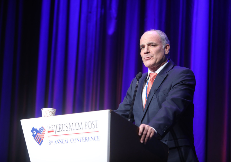 Yechiel Leiter at 2019 Jerusalem Post Annual Conference.