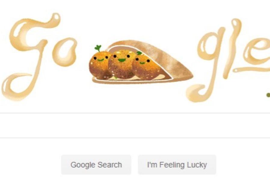 Google Doodle honors the falafel balls