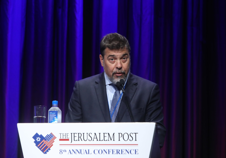Chair of the World ORT Board of Trustees Dario Werthein at Jerusalem Post Conference (Marc Israel Sellem/The Jerusalem Post)