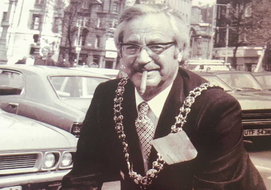 FRED BALCOMBE, one of Manchester's six Jewish Lord Mayors to date, attended the official opening of Manchester House. (Credit: MANCHESTER EVENING NEWS)