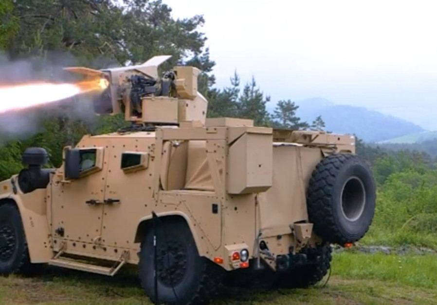 In first, SPIKE LR is fired from an OSHKOSH JLTV