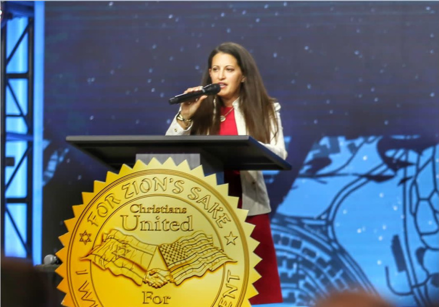 Shari Dollinger, co-executive director of Christians United for Israel (Credit: COURTESY CUFI)