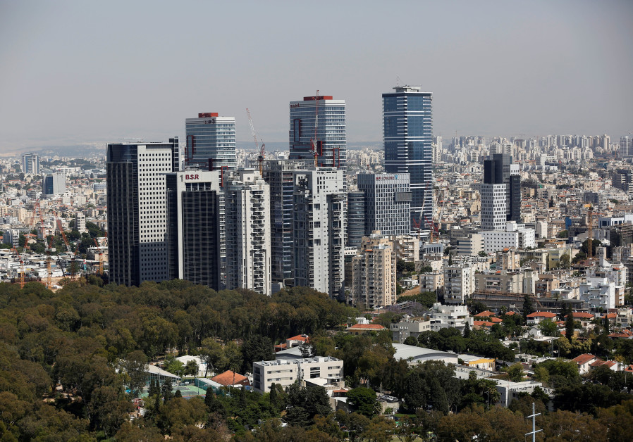A general view shows the urban landscape of Tel Aviv, Israel May 15, 2019