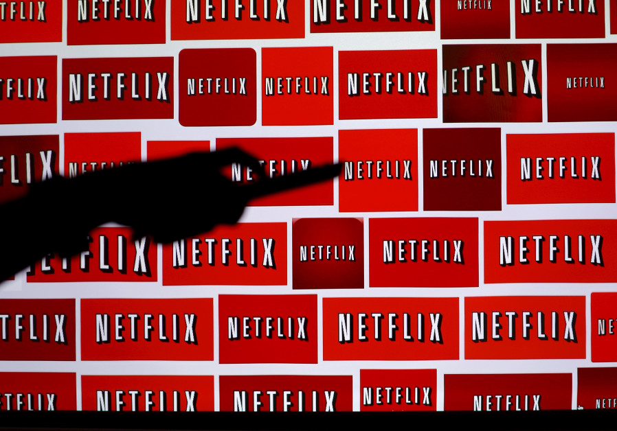 The Netflix logo is shown in this illustration photograph in Encinitas, California