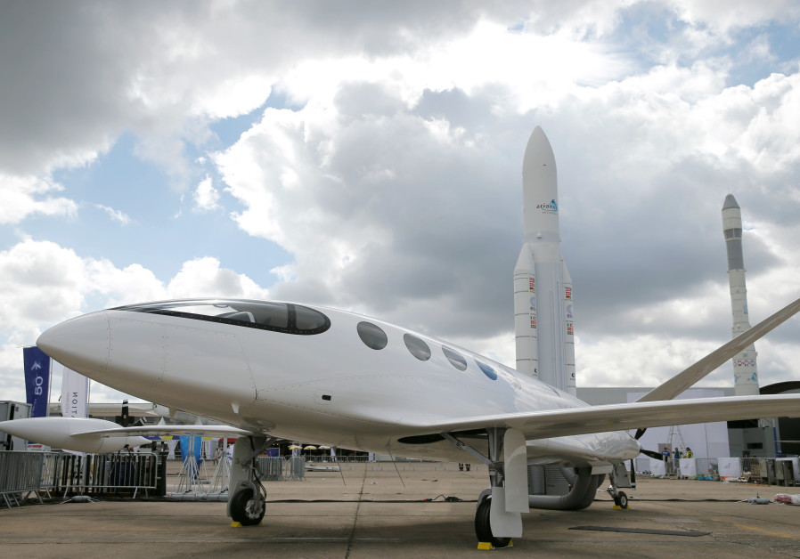 Israeli startup Eviation wheels out new electric airplane in Paris