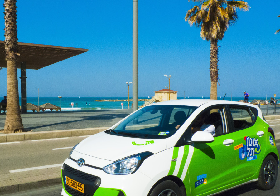Tel Aviv car-sharing venture reduces ratio of cars per household