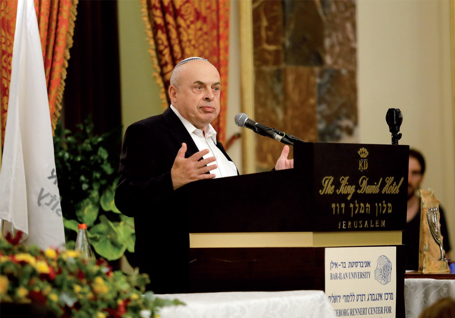 Natan Sharansky's golden award