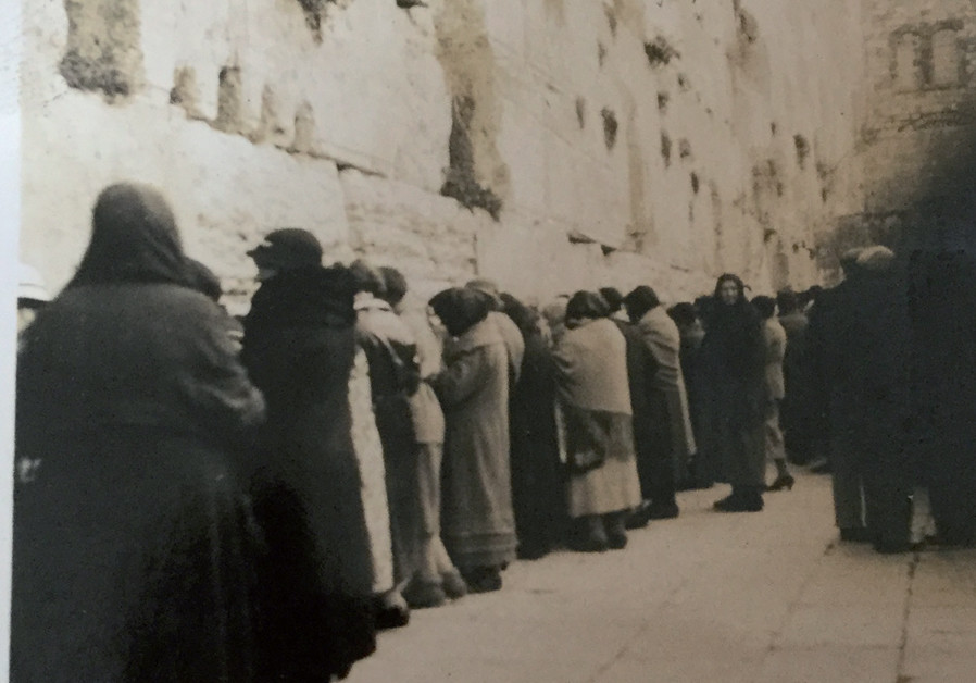 My grandmother's journey to the Holy Land