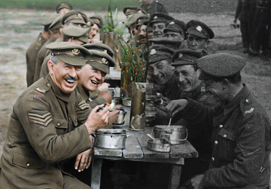 'THEY SHALL NOT GROW OLD' (Courtesy)