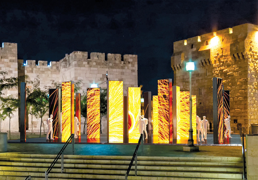 Jerusalem Light Festival. (Credit: JERUSALEM LIGHT FESTIVAL)