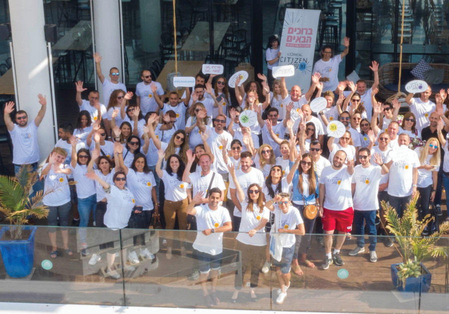 L'Oréal Israel marks Citizen Day