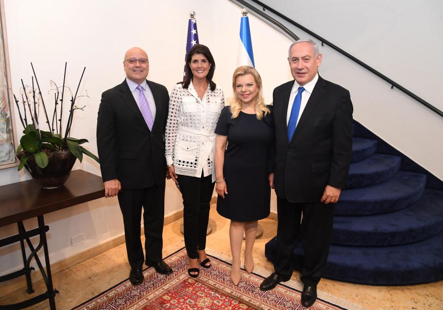 Netanyahu to Nikki Haley: You are a great champion of U.S.-Israeli ties