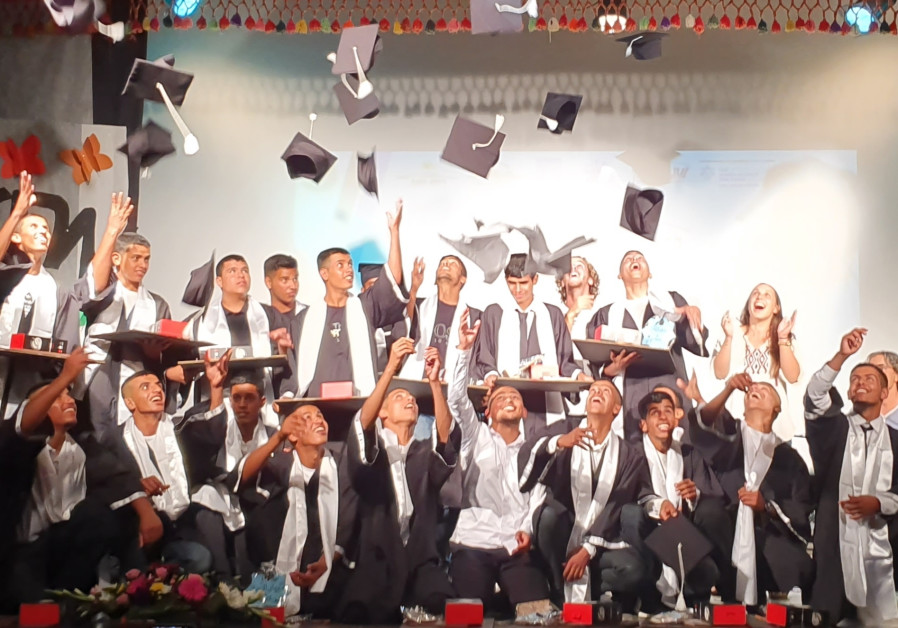 First-of-its-kind Bedouin youth village school graduates inaugural class