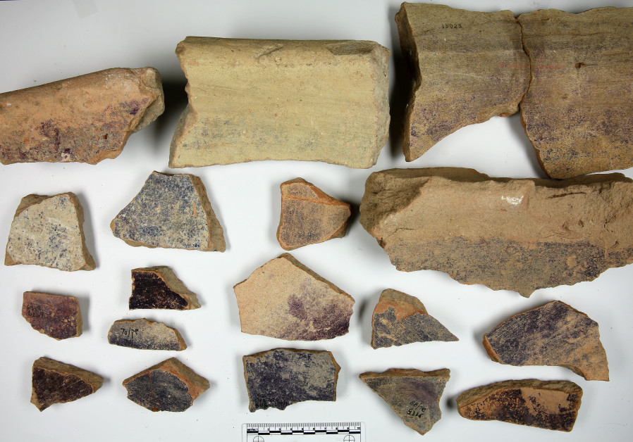 Biblical era purple dye industry discovered in Haifa