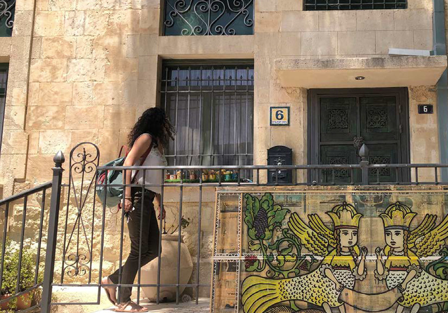 Ancient and contemporary in Beersheba's Old City