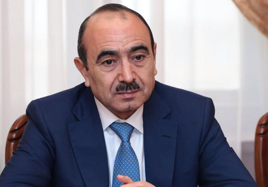 (LEFT) ALI HASANOV, assistant to the Azerbaijan president on public and political issues. (Credit: Courtesy)
