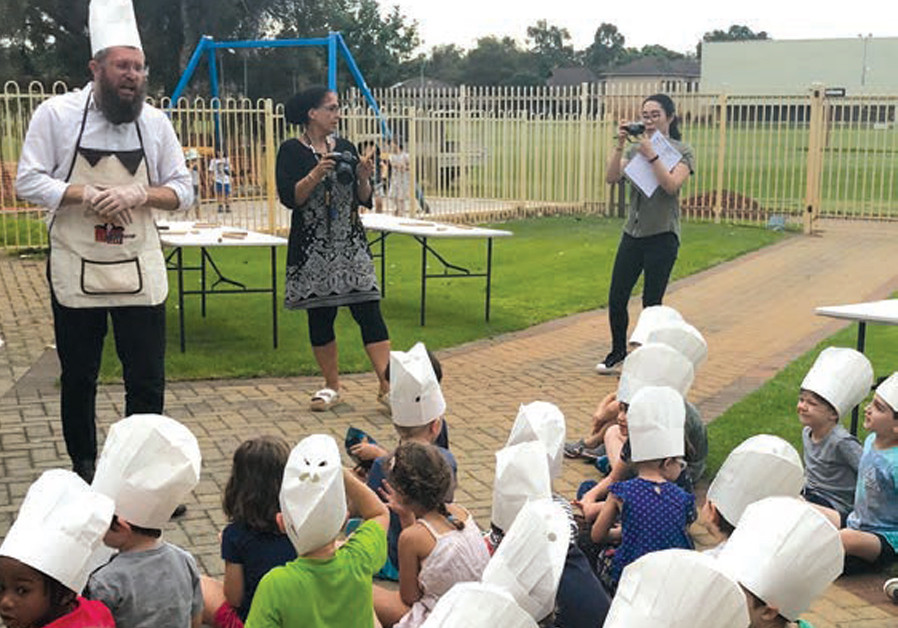 ISOLATED NO longer: Perth's young Jewish chefs (CREDIT: CHABAD OF WESTERN AUSTRALIA)