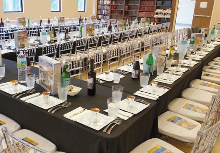 A BEAUTIFUL table is set for Miami's young professionals (CREDIT: ROK FAMILY SHUL)